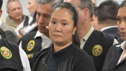 Corte Suprema designa jueza para decidir en casación de Keiko Fujimori y fija fecha de audiencia