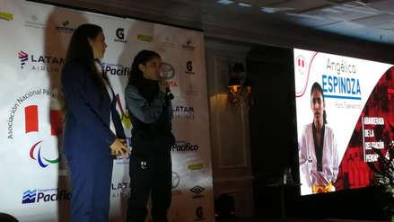 ¡La elegida! Angélica Espinoza será la abanderada de la delegación peruana en los Juegos Parapanamericanos