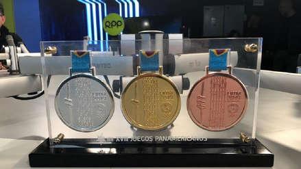 Lima 2019: Así son las medallas que ganarán los deportistas de losJuegos Parapanamericanos