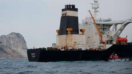 Liberan petrolero de Irán retenido en Gibraltar pese a pedido de EE.UU. para que sea bloqueado