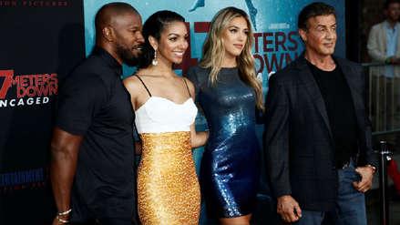 Las hijas de Sylvester Stallone y Jamie Foxx debutan en el cine bajo la presión de sus famosos apellidos
