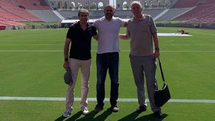 Miembros de la FPF visitaron el estadio donde la Selección Peruana se enfrentará a Brasil