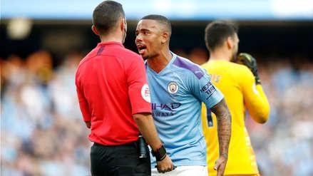 ¡Otra vez el VAR! Gol de Gabriel Jesus en los descuentos fue anulado y dejó al Manchester City sin victoria