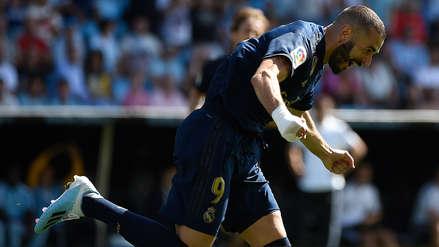 Real Madrid: Karim Benzema anotó ante Celta tras gran jugada de Gareth Bale