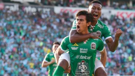 En el retorno de Pedro Aquino, León derrotó 4-3 a Chivas por el Torneo Apertura de la Liga MX