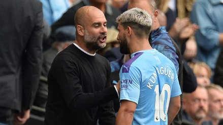 Pep Guardiola vs. Kun Agüero: ¿Qué dijo el técnico del Manchester City tras discutir con el delantero?