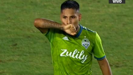 Raúl Ruidíaz volvió al gol con Seattle Sounders ante Los Angeles Galaxy de Zlatan Ibrahimovic