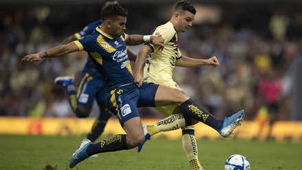 Con Edison Flores, Monarcas Morelia cayó 1-0 ante América por el Torneo Apertura de la Liga MX