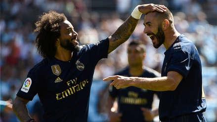 ¡Debutó con triunfo! Real Madrid ganó 3-1 a Celta por la fecha 1 de la Liga de España