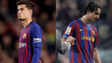 Philippe Coutinho: 10 figuras que llegaron a Barcelona en medio de expectativa, pero no destacaron