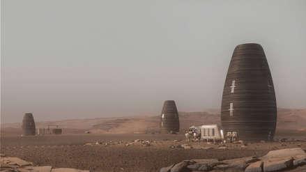 Compañía diseña las primeras casas para habitar Marte y lucen así [FOTOS]