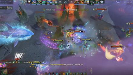Revive los emocionantes momentos de la victoria de Infamous Gaming sobre Evil Geniuses [VIDEO]