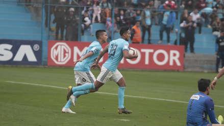 ¡Lo igualó! 'Canchita' Gonzales aprovechó error de la defensa rival para darle el empate a Sporting Cristal