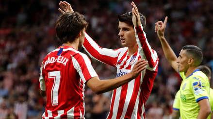 ¡Gran debut! Atlético de Madrid venció 1-0 al Getafe en la primera fecha de la Liga Santander