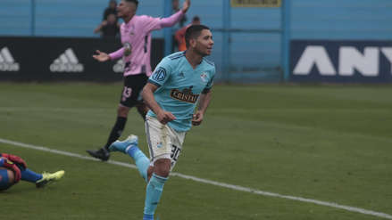 ¡Partidazo! Cristian Palacios decretó el 3-2 de Sporting Cristal sobre Sport Boys