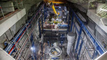 15 fotos de la inauguración de la operación subterránea de la gigantesca mina Chuquicamata en Chile