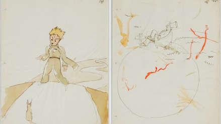 Hallan bocetos inéditos de la famosa novela El Principito en una casa en Suiza