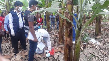 Feminicidio | Hallan cuerpo de mujer enterrada en medio de una chacra en Chepén