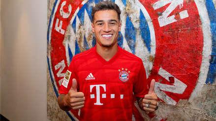 ¡Oficial! Philippe Coutinho fue presentado en el Bayern Munich: