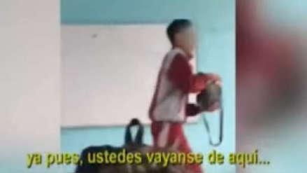 Alumna que filmó agresión a profesora del colegio Dora Mayer dejó de ir a la escuela por miedo al bullying [AUDIO]