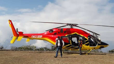Helicóptero aterrizó sin autorización en parque arqueológico de Choquequirao