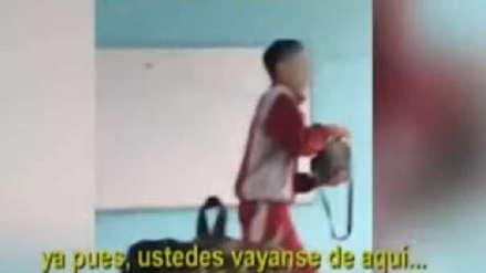 Callao | Alumnos de colegio que agredieron a profesora no pueden ser expulsados, aseguró la directora [AUDIO]