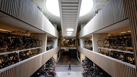 Así luce el aparcamiento de bicicletas más grande del mundo [FOTOS]