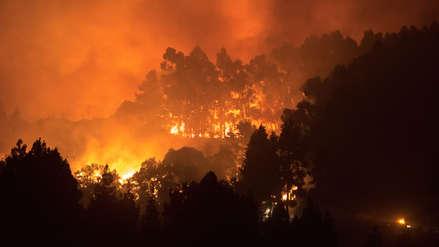 Incendio sin control: Llamas de hasta 50 metros golpean zonas naturales protegidas en España [FOTOS]