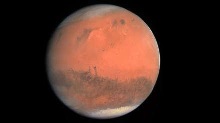 ¿En los primeros tiempos de Marte hubo periodos cálidos con tormentas y agua que fluía?