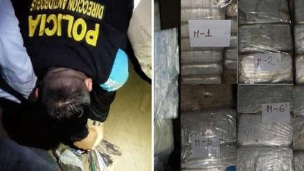 Policía incautó 300 kilos de clorhidrato de cocaína y desarticuló organización criminal internacional