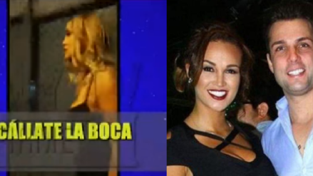 Nicola Porcella es captado agrediendo verbalmente a Angie Arizaga | VIDEO