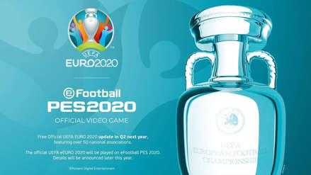 ¡Guerra de licencias! eFootball PES 2020 tendrá en exclusiva la Eurocopa
