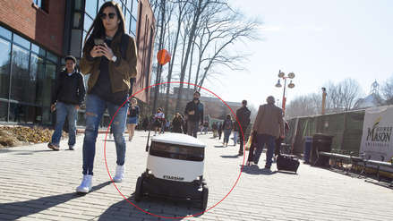 Estados Unidos: Pequeños robots repartirán pedidos de comida en 100 universidades [VIDEO]