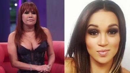Angie Arizaga despotrica contra Magaly Medina por difundir video de Nicola Porcella