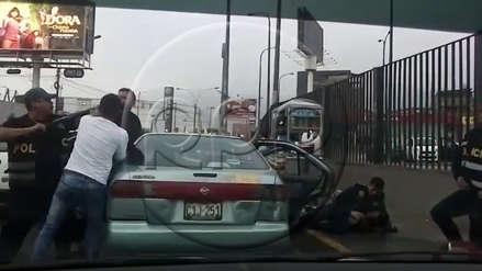 SMP | Así fue la captura de los hombres armados que tenían el croquis de un centro bancario [VIDEO]