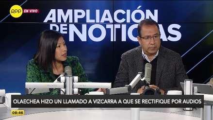 """Indira Huilca: Pronunciamiento de Olaechea """"es representativo del fujimorismo y sus aliados"""""""