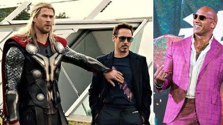 Dwayne 'La Roca' Johnson se convierte en el actor mejor pagado y le gana a los Avengers