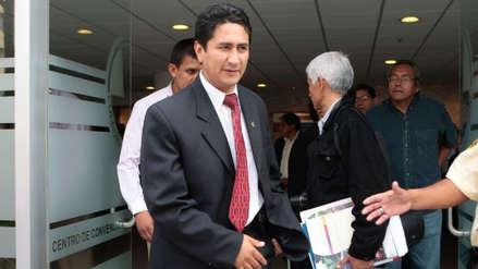 Vladimir Cerrón fue detenido por la Policía en Junín