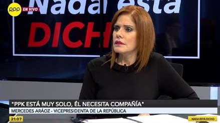 Mercedes Aráoz: El fiscal José Domingo Pérez