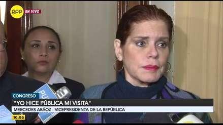 Mercedes Aráoz rechaza pedido de prisión para PPK: