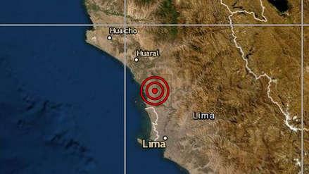 Un sismo de magnitud 4.0 remeció Lima esta mañana