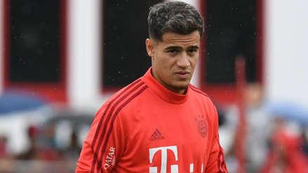 Philippe Coutinho se queda con ganas de debutar en el Bayern Munich por este motivo