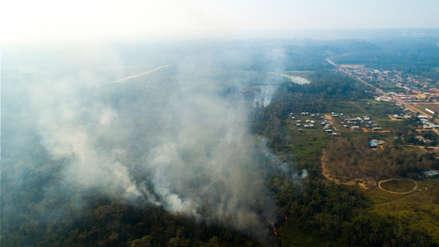 COER Madre de Dios detecta 16 puntos de posibles incendios forestales sin relación con Brasil