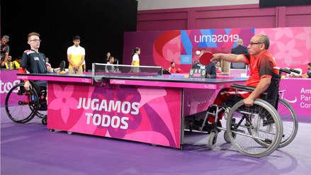 ¡Empezó la fiesta! Los Juegos Parapanamericanos iniciaron con Para Tenis de Mesa en la Videna