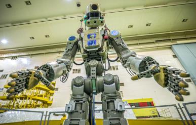 Rusia envió un androide a la Estación Espacial Internacional [VIDEO]