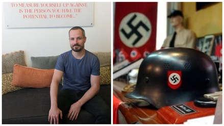 Un hombre que fue un neonazi en Alemania, ahora es un judío religioso en Israel