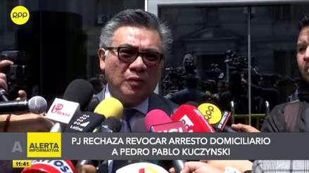 """César Nakazaki: """"El juez le ha puesto alto al poder de la Fiscalía"""""""