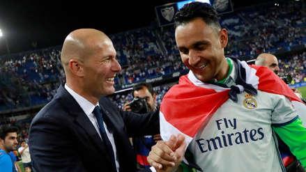 Zinedine Zidane sobre Keylor Navas: