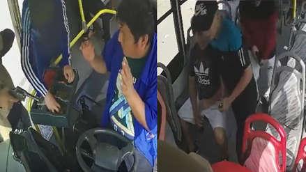 Delincuentes fingieron ser pasajeros y asaltaron microbús a mano armada en Trujillo