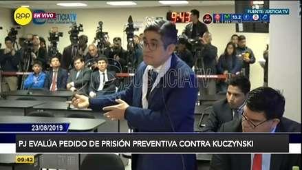 Fiscal Pérez sobre caso PPK: